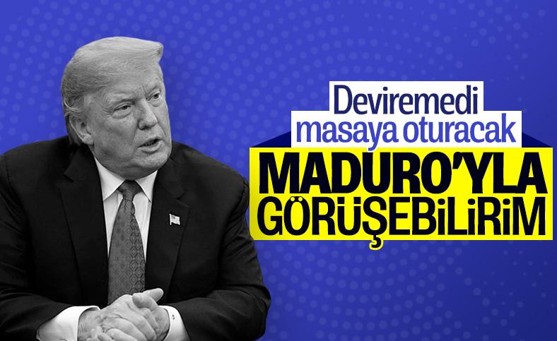 Trump: Maduro ile görüşmeyi değerlendirebilirim