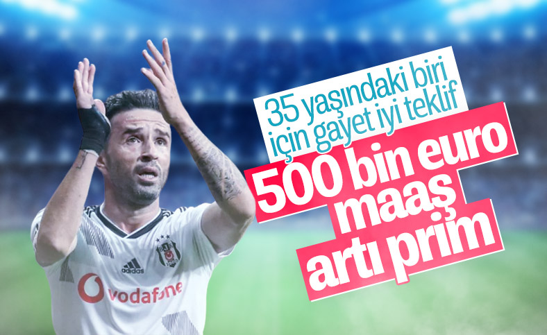 Beşiktaş'ın Gökhan Gönül'e yaptığı teklif