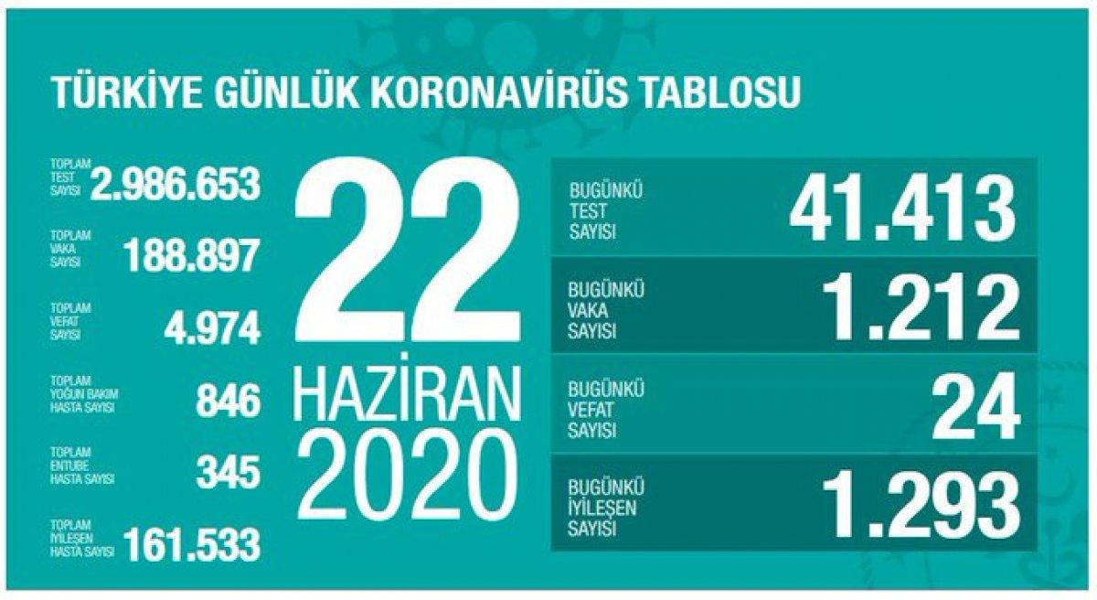 Türkiye'de virüs salgınında son durum #2