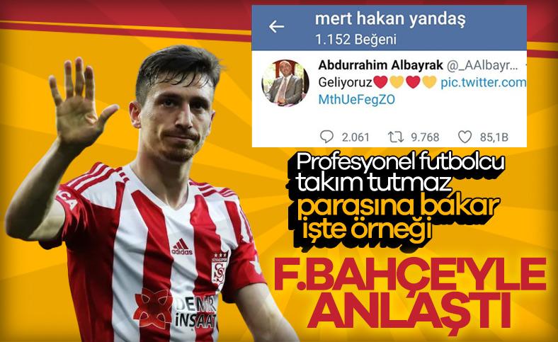 Mert Hakan, Fenerbahçe ile anlaşmaya vardı