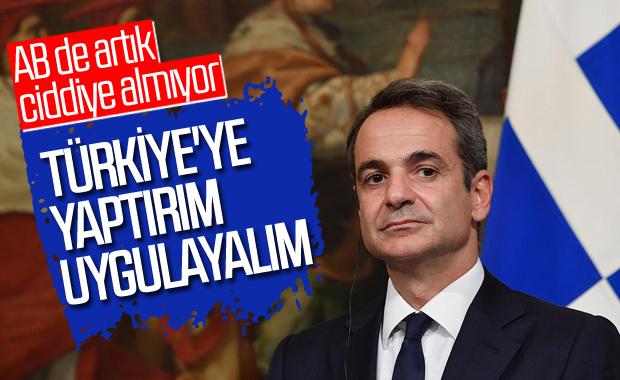 Miçotakis: Rusya gibi Türkiye'ye de yaptırım tartışılsın