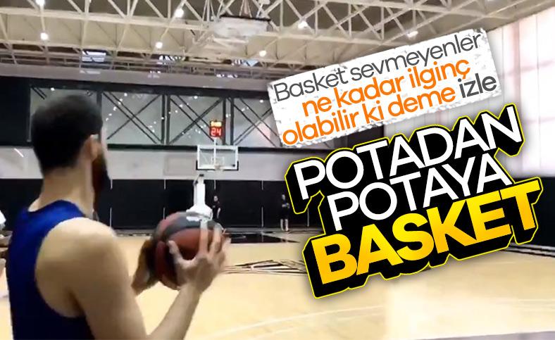 Nikola Mirotic'ten antrenmanda inanılmaz basket
