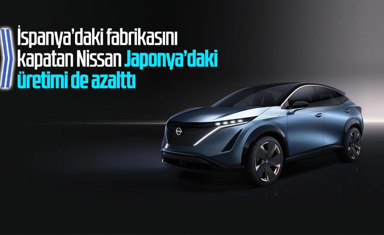 Nissan, Japonya'daki üretimi azaltma kararı aldı