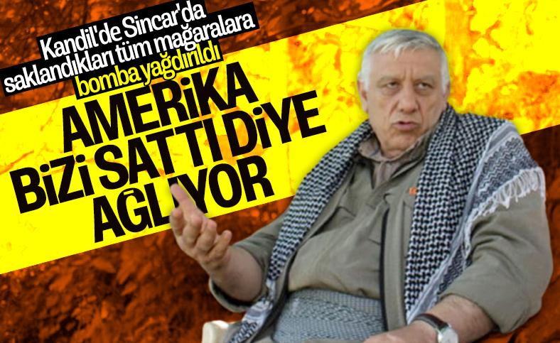 PKK'lı Cemil Bayık Amerika'yı suçlamaya başladı