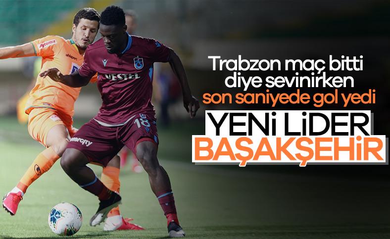 Trabzon, son saniyede yıkıldı