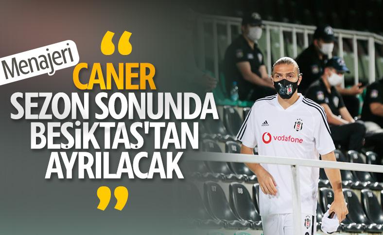 Caner Erkin'in menajeri: Beşiktaş'tan ayrılıyor