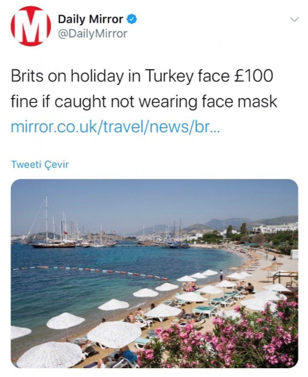 Türkiye'deki maske cezası İngiliz medyasında #3