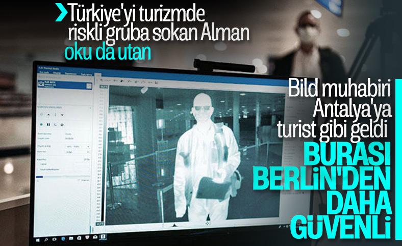 Alman Bild, Türkiye'nin seyahat önlemlerini övdü