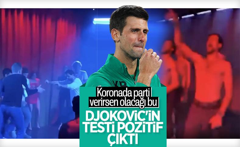 Djokovic koronavirüse yakalandı