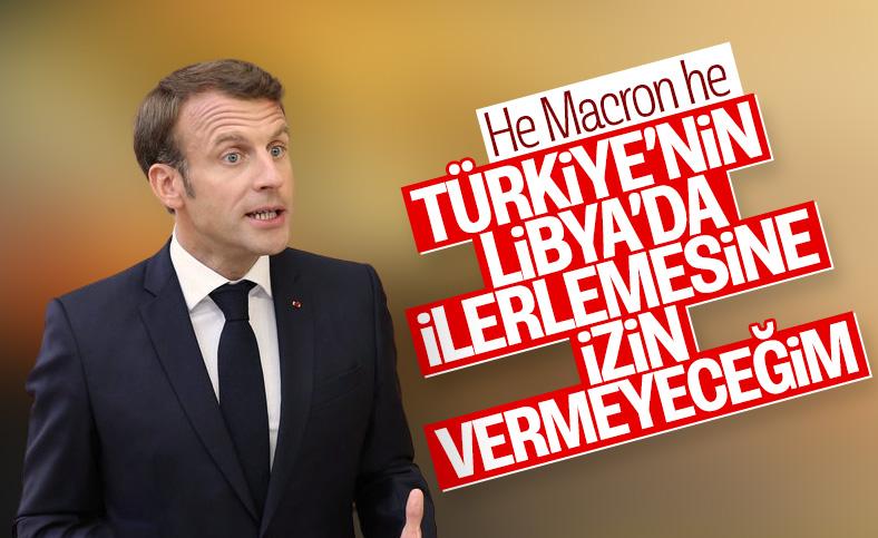 Macron Türkiye'den şikayetçi