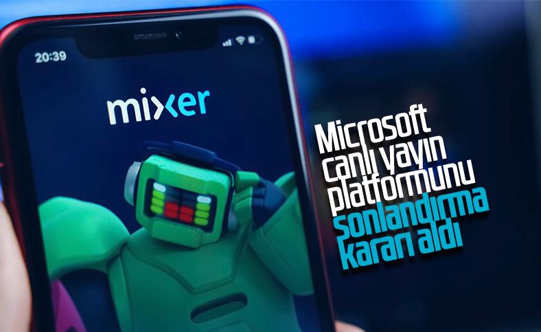 Microsoft, canlı yayın platformu Mixer'i kapatıyor