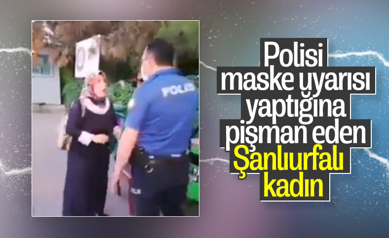 Maske uyarısı sonrası polisi çileden çıkaran kadın