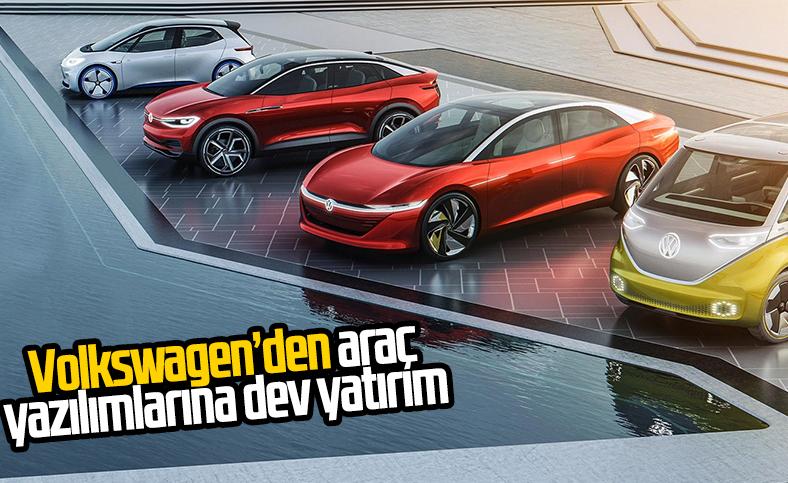 Volkswagen, otomobil yazılımlarına yatırım yapıyor