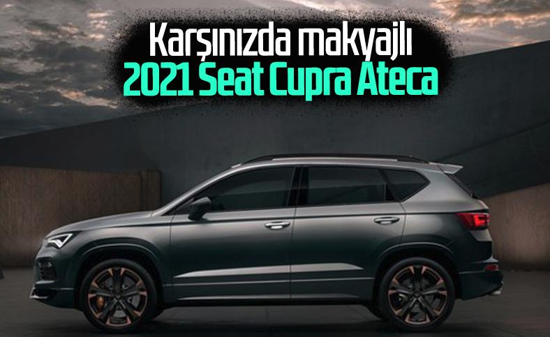 Makyajlı 2021 Seat Cupra Ateca tanıtıldı
