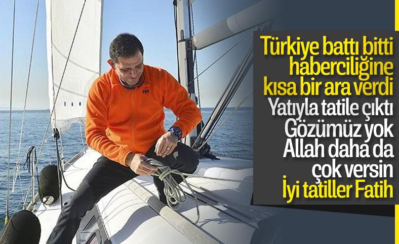 Fatih Portakal: Kovulmadım, tatildeyim