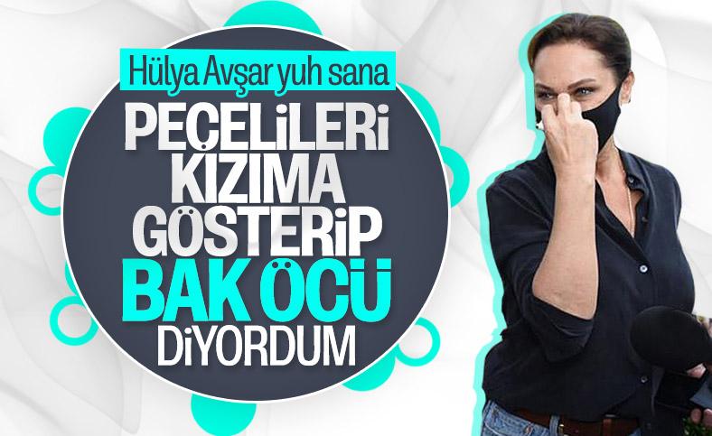 Hülya Avşar: Biz de peçeyi taktık
