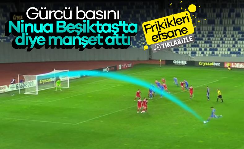 Beşiktaş, Nika Ninua'yı istiyor
