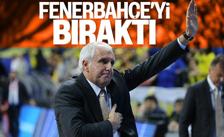 Obradovic Fenerbahçe'yi bıraktı