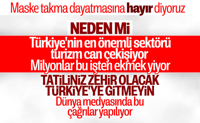 Türkiye'de kesilen maske cezaları dünya medyasında