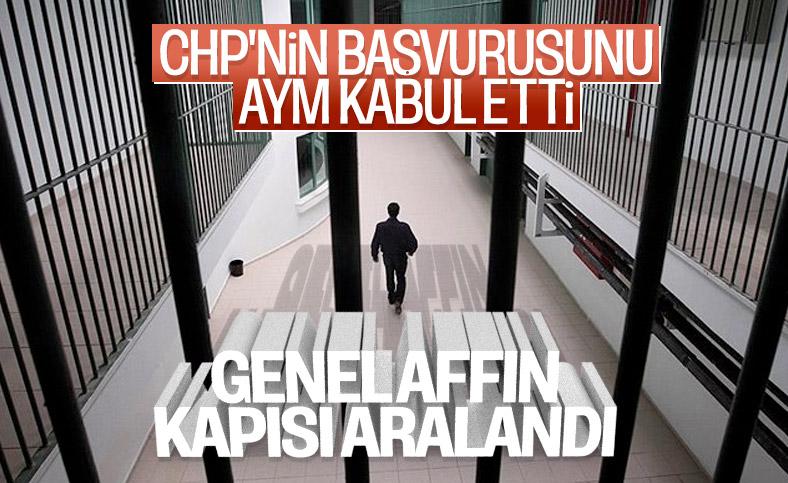 AYM CHP'nin tahliyeler için itirazını kabul etti