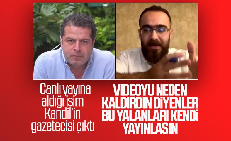 Cüneyt Özdemir, TSK'nın suçlanmasına izin vermedi
