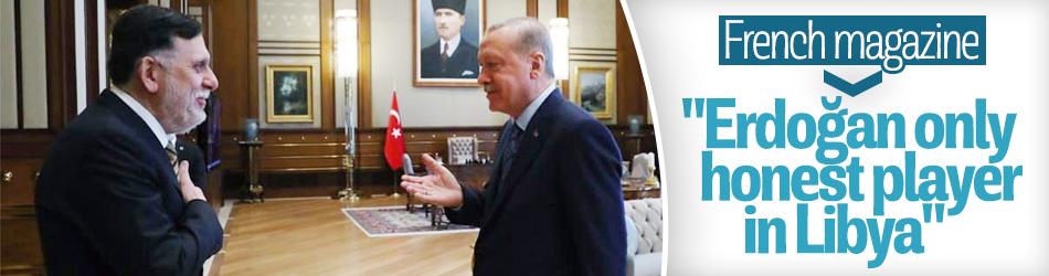 French magazine hails Erdoğan's peace efforts in Libya