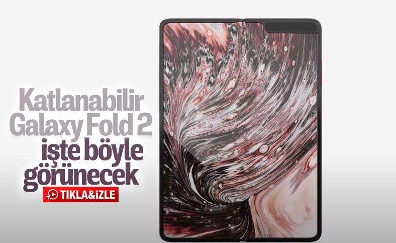 Katlanabilir Samsung Galaxy Fold 2 konsept videosu