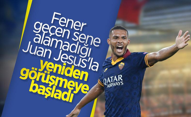 Fenerbahçe bir kez daha Juan Jesus'un peşine düştü