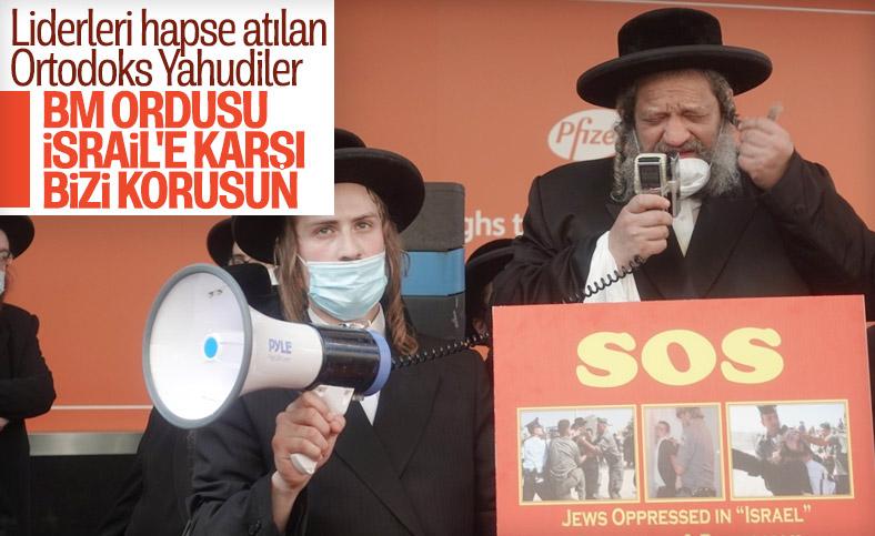 Ortodoks Yahudiler İsrail'e karşı BM barış gücü istedi