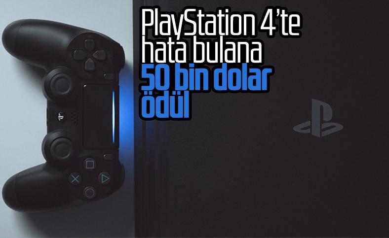 Sony'den PlayStation 4'te hata buluna 50 bin dolar ödül
