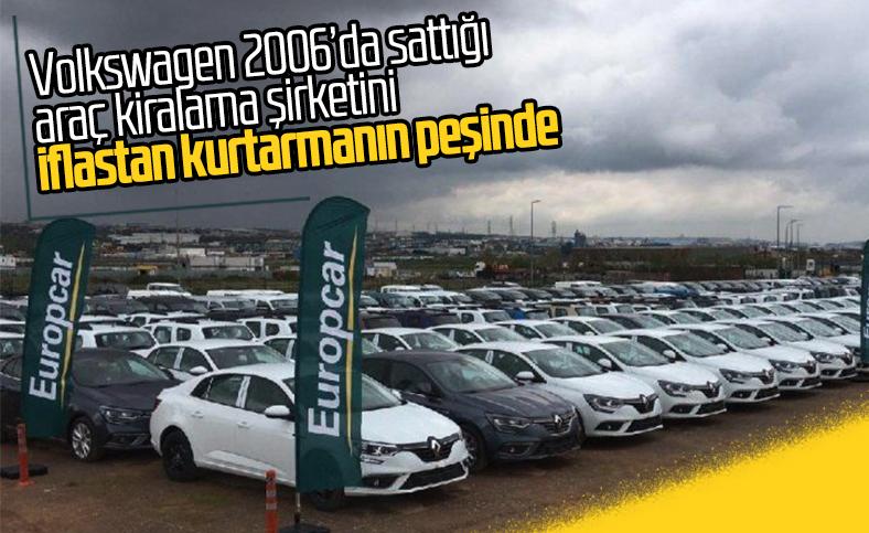 Volkswagen, 2006'da sattığı Europcar'ı geri almak istiyor