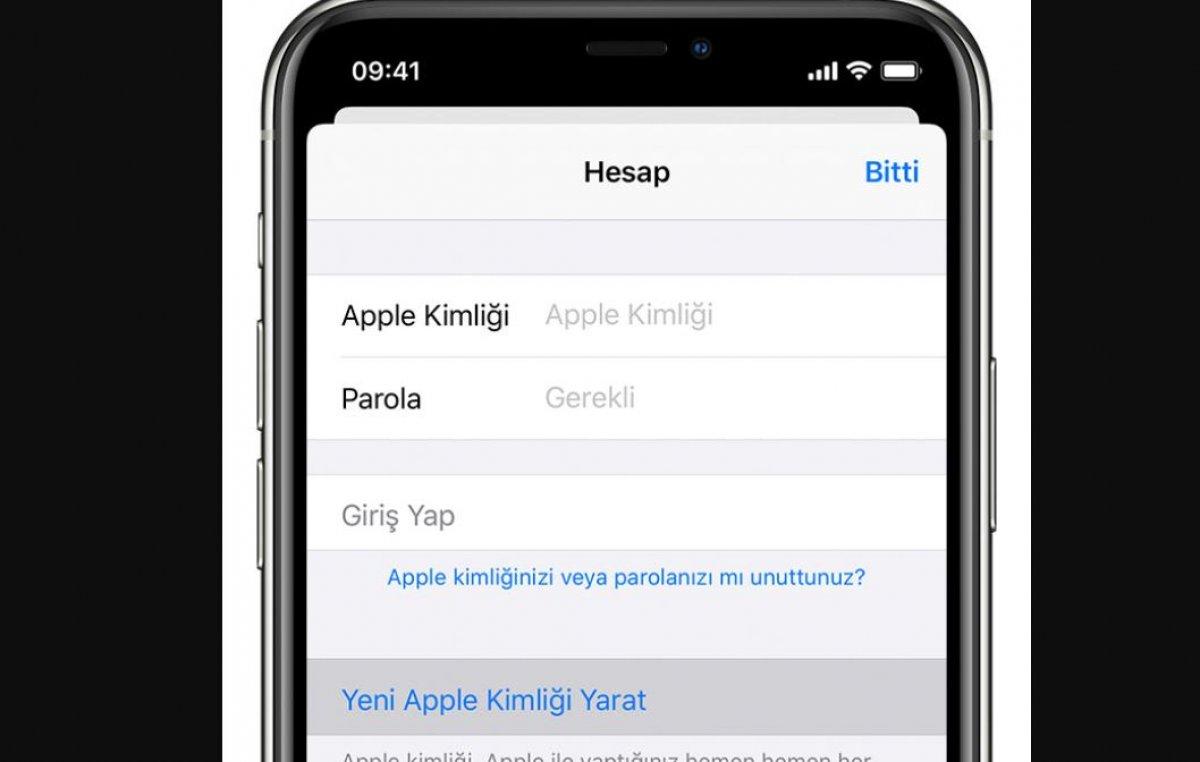 Yeni bir Apple Kimliği nasıl oluşturulur #3