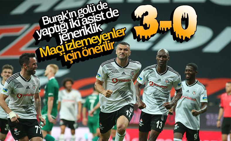 Beşiktaş, Konya'yı farklı mağlup etti