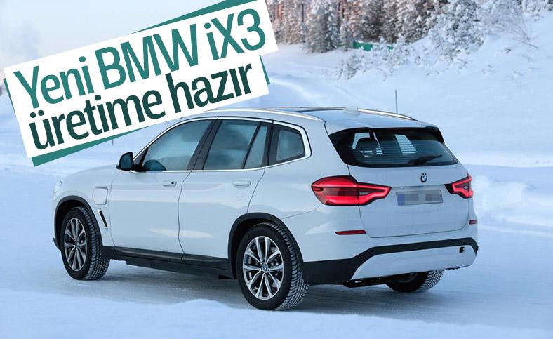 Yeni BMW iX3 son testleri başarıyla geçti
