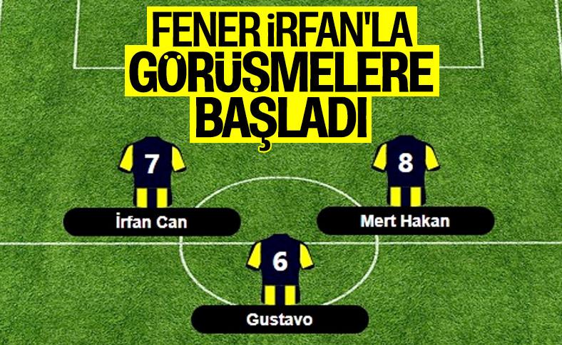 Fenerbahçe'de yeni hedef İrfan Can Kahveci