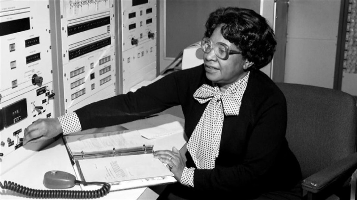NASA merkezin ilk siyah kadın mühendisi # 2