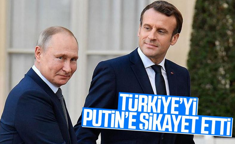 Putin, Macron ile Libya ve Suriye konusunu görüştü