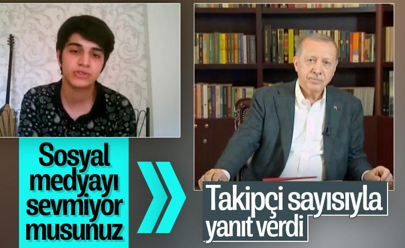Gençlerden Erdoğan'a sosyal medya sorusu