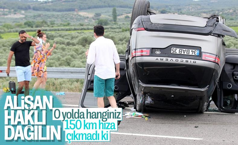 Alişan, trafik kazasına ilişkin açıklama yaptı