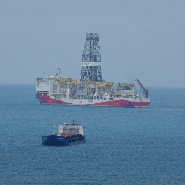 Fatih Sondaj Gemisi Karadeniz'e açıldı #1