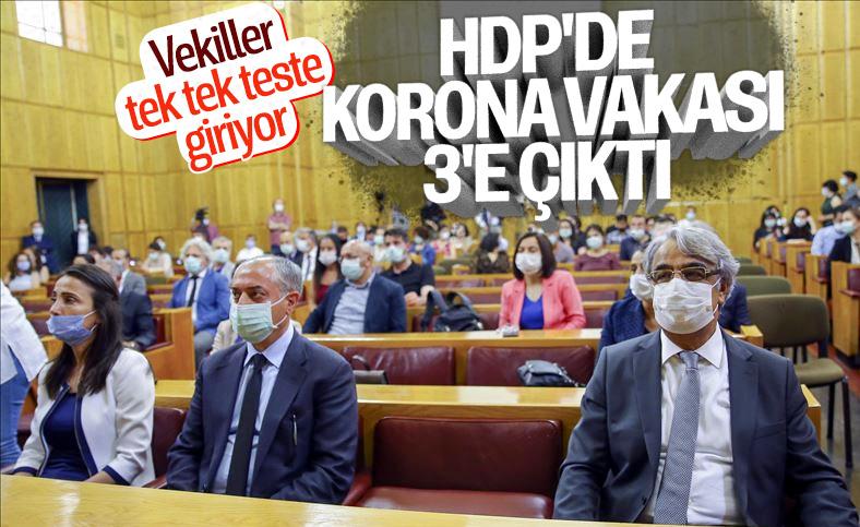 HDP'li 3 vekil koronavirüse yakalandı