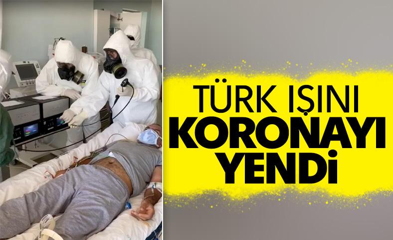 Diyarbakır'da korona hastası Türk Işını ile iyileşti