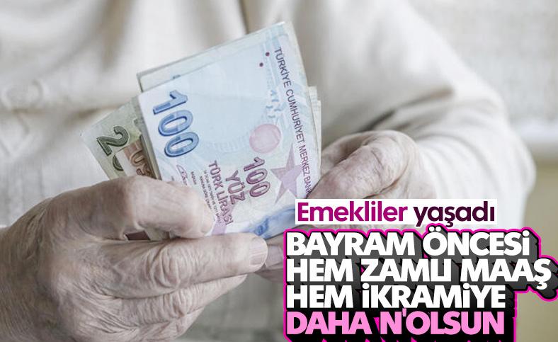 Emekliler, maaş ve ikramiyeyi bayram öncesi alacak
