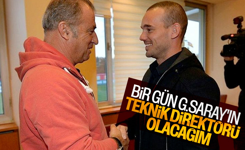 Sneijder'in Galatasaray hayali