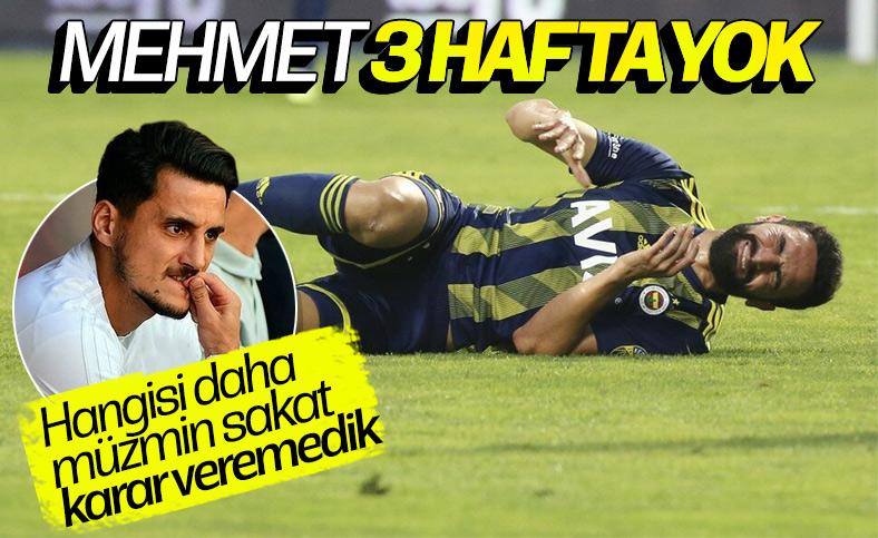 Mehmet Ekici'de yırtık tespit edildi