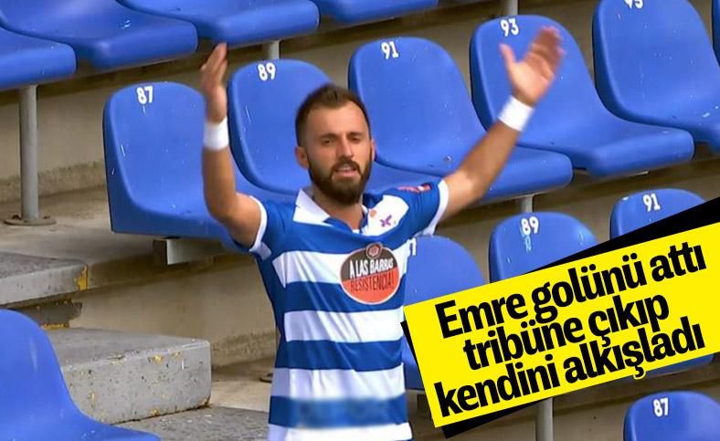 Emre Çolak'ın ilginç gol sevinci