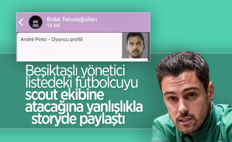 Erdal Torunoğulları listedeki oyuncuyu paylaştı