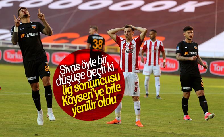 Kayserispor, deplasmanda Sivas'ı yendi