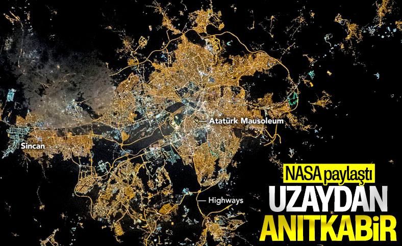 NASA Ankara'dan fotoğraf paylaştı