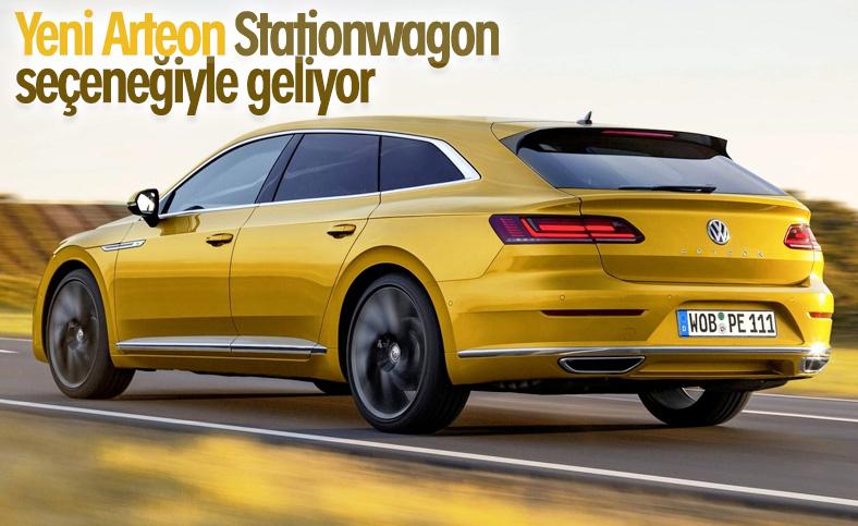 Yeni VW Arteon, stationwagon seçeneğiyle ülkemize gelecek